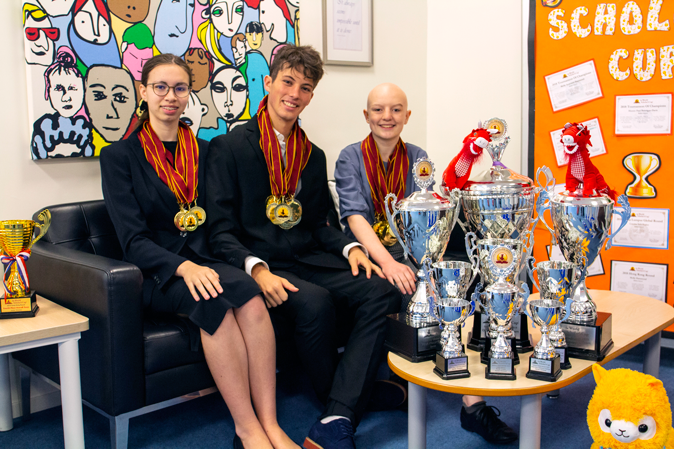 Kellett are World Scholar Cup Champions!